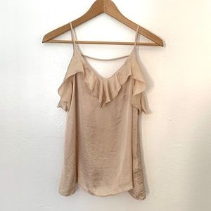 H.I.P Beige open back Camisole